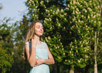 Portret v prirodzenom svetle