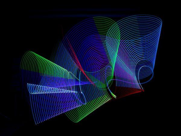 Hry so svetlom - zábavný workshop luminografie