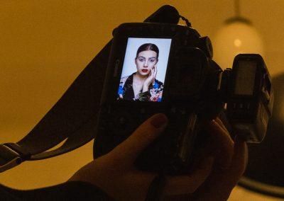 Portret v atelieri