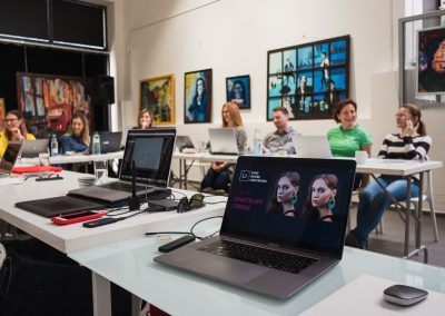 Kurz retuse a grafickej upravy fotografii v programe Adobe Lightroom