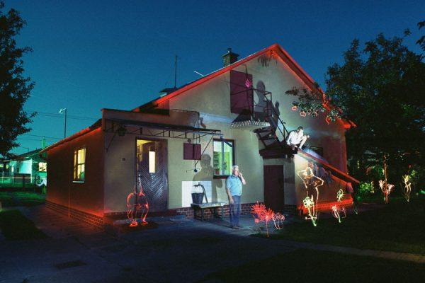 Luminografické experimenty - ART kurzy s Robom Kočanom